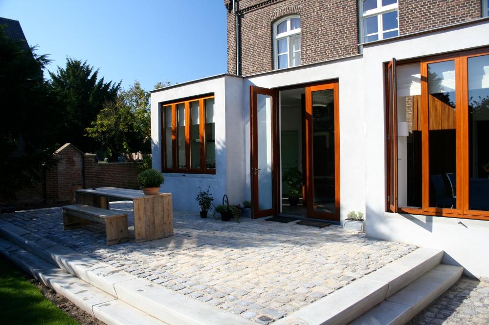 * aanbouw verbouw beton pastorie 6
