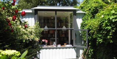 *nieuwbouw verbouw werkruimte tuin schrijver 4