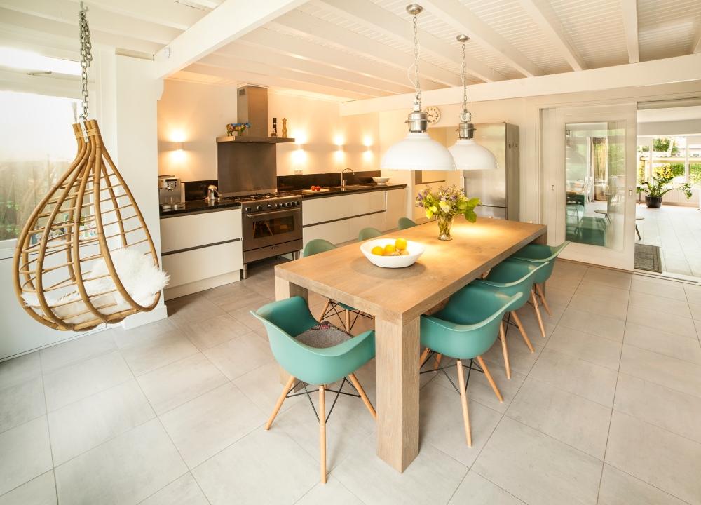 * open keuken eetkeuken verbouwing interieur stolberg 1