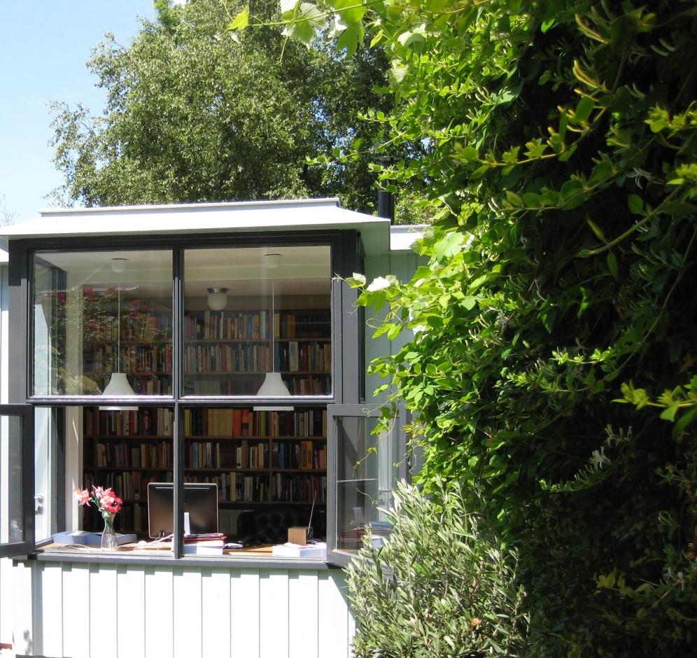 *werkruimte in tuin schrijver 4