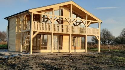 nieuwbouw vrijstaande woninghoutskeletbouw